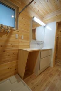 洗面台と棚