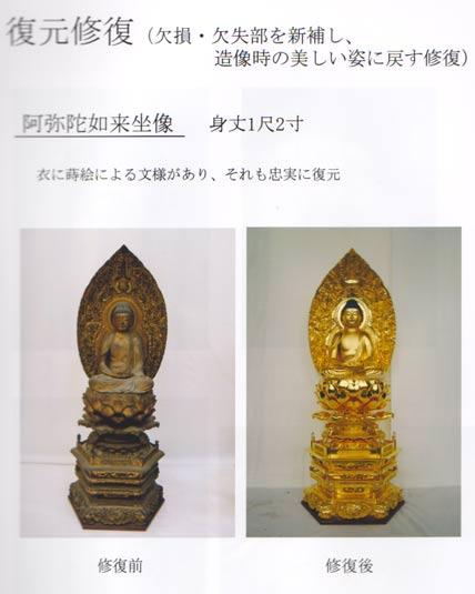 仏像修復 写真3