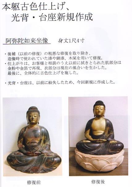 仏像修復 写真7