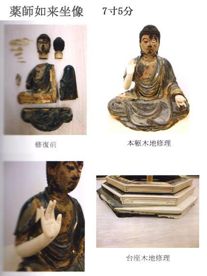 仏像修復 写真4