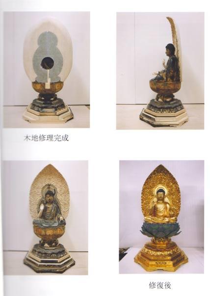 仏像修復 写真5