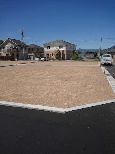 上田市諏訪形分譲地造成完了写真