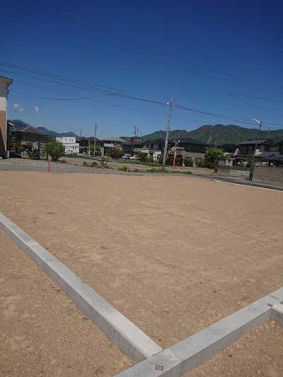 上田市諏訪形分譲地造成完了写真2