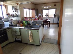 リフォーム事例 キッチン 長野県上田市 施工前写真2