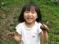 子ども達の笑顔のためにも自然素材にこだわります