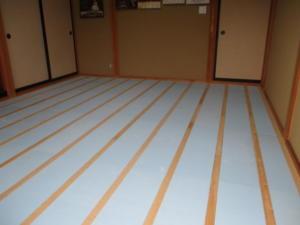 シニア向けリフォームの和室の施工写真